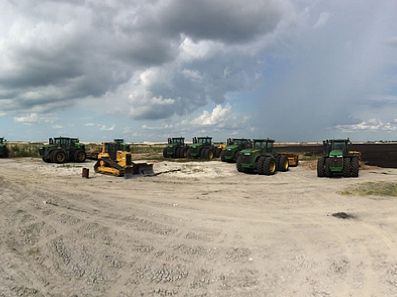 SFWMD EAA A-1 Flow Equalization Basin: Central Florida Equipment
